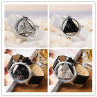 New Mens PU Leather Band Quartz Wrist Watches Fashion Analog Watch Casual Dial