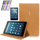 "Folio Leather Smart Cover Case Stand For Amazon Kindle Fire HD 8"" 2016 6th Gen"