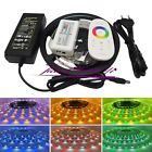 5M RGBW 5050 LED Strip Light +2.4G 18A Remote Controller+ 5A Power Adapter Kit