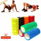 Yoga Foam Roller Exercise Trigger Point GYM Pilates Texture Physio Massage Uk @#