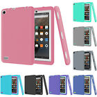"Rugged Shockproof Hybrid Rubber Skin Case Cover For Amazon Kiindle Fire 7"" 5th"