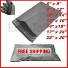 GREY MAILING BAGS STRONG MIXED PLASTIC POSTAL MAIL POSTAGE POLY 50 100 500 1000
