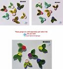 ASSORTED  FLOWERS -  HANDMADE CERAMIC MOSAIC TILES ( Pick you Group #20