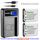 Kastar NP-45 NP-45A Battery Charger For Fujifilm FinePix XP1