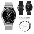 Metal Steel Mesh Milanese Magnetic Watch Band Strap For Samsung Gear S3 Frontier