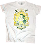 T-Shirt Sailor Classic Tattoo Pin Up Girl Vintage Retro Anker Anchor weiß Gr. L