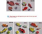 FISH - CERAMIC KILN FIRED MOSAIC TILES for your Project ( Pick you Group ) #5