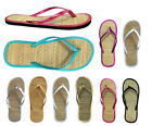 Wholesale Lot Women's Sandals Bamboo Flip Flop 48 pairs 8 colors