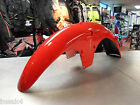 HONDA CG 125 BR RED FRONT FENDER MUDGUARD DIRECT REPLACEMENT METAL LAST ONE