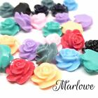 20 Cabochon Resin Classic Roses 20mm ColourChoices  Retro Style Flatback
