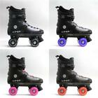 New 2017 KINGDOM GB VIPER BOYS MENS QUAD ROLLER SKATES BOOTS RRP £90 ABEC 7