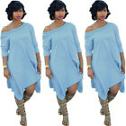 New Women Summer Casual Cotton Loose Evening Cocktail Party Long Dress Plus Size