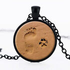 Gifts New Arrival Footprint  Dog Paw Pendant Necklace Jewelry For Dog Lover