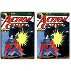 Comic Book Printed PC Case Cover For Apple iPad - Action Comics - S-A897