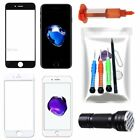 For iPhone 7 7 Plus 8Plus Front Screen Glass Lens Replacement Repair Kit UV Glue