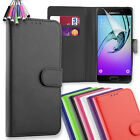 Wallet Flip Leather Case Cover For Samsung Galaxy A3 (2016) + Mini Stylus