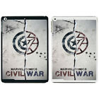 Marvel Posters Civi War Printed PC Case Cover For Apple iPad - S-T2559