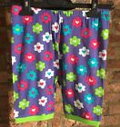 HATLEY girls Purple Hearts flowers pyjama shorts - various sizes - NEW