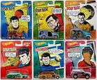 HOT WHEELS Mattel STAR TREK Diecast Metal Model Real Riders Cars
