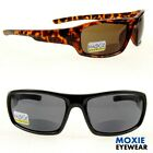 "Men's BIFOCAL SUNGLASSES +1.50~3.00 Quality Lens ""Neutron"" moXie NWT Sport Wrap $15.49 USD on eBay"