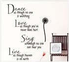 Wall stickers STICKER ADESIVI MURO murali  DANCE LOVE