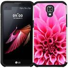 Slim Hybrid Armor Case Protective Phone Cover for LG X Screen (K500 / K500Y)