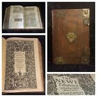 1611 KING JAMES BIBLE First Edition COMPLETE Royal Folio RARE