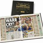 Personalised  Rugby League Challenge Cup Newspaper Book Memorabilia Gift