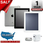 Apple iPad 2 | 16GB 32GB 64GB | Black White 9.7in Wi-Fi Tablet | 1-Year Warranty