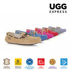 UGG Summer Moccasins Loafer,Lace rubber sole, Australian Sheepskin