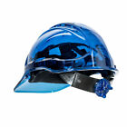 Внешний вид - Hard Hat Safety Helmet Vented See Through Adjust Color ANSI Ratchet,Portwest PV