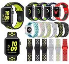 Sports Silicone Band Bracelet iWatch Wrist Strap For Apple Watch 2 /1 38mm/42mm