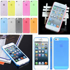 0.5mm Ultra Thin Slim Matte Snap On Hard Case Cover for Apple iPhone 5 5S
