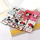 Mickey Mouse Flip Stand Leather Wallet Case Cover For Samsung Galaxy Note 4 & 3