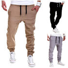 Men's Trousers Sweatpants Casual Harem Pants Slacks Jogger Dance Sportwear USA