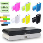 For Xiaomi Samsung Galaxy S6 S7 iPhone 50000mAh Power Bank Charger Pack Battery