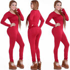 Women Sport YOGA Workout Gym Fitness Leggings Pants Jumpsuit Athletic Clothes US