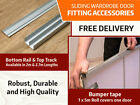 Sliding Wardrobe Accessories: Track and Rail | Soft Closing System | Bumper Tape