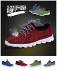 2017 Fashion Men's High Top Sneaker Breathable Running Sports Loafers Men shoes