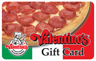 Valentino's Gift Card - $25, $50 or $100  Fast Email delivery