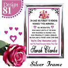 FRIEND QUOTE SIGN BIRTHDAY GIFTS FOR HER PERSONALISED BIRTHDAY PRESENTS CARDS