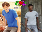 Promotion FRUIT OF THE LOOM man T-SHIRT short sleeve in 19 colours T-SHIRT#