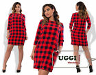 Trendy Woman Dress Suiting fabric Shift dress 3/4 Sleeve Mini Casual- Plus size