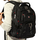 "Men's  Rucksack Notebook 15.6"" Laptop Backpack Shoulder Hiking Travel School Bag"