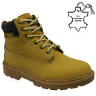 LADIES AMBLERS LEATHER SAFETY BOOTS STEEL TOE CAP ANKLE HIKER WORK SHOES SIZE 3