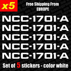 Set of 5 STAR TREK ENTERPRISE NCC-1701-A  Vinyl Sticker Decal Aufkleber Bumper on eBay