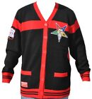 Order Of the Eastern Star Womens Wool Sweater Black/Red