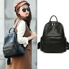 Women's Lambskin Leather Small Backpack Rucksack Daypack Travel bag Purse