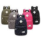 Women Girl Bags Backpack School Fashion Shoulder Bag Rucksack Canvas Travel Bags
