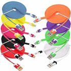 1M 3M NOODLE MFI USB Sync Charger Data Cable Lead For iPhone 7 Plus 6S 6 5S iPad